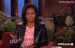 Michelle Obama Tells Ellen Barack's Dirty Little Secret
