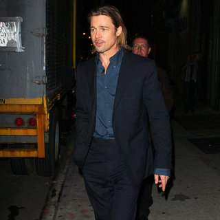 Brad Pitt at The Daily Show Pictures