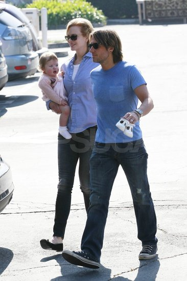 Nicole Kidman and Keith Urban Step Up With Their Growing Daughter Faith