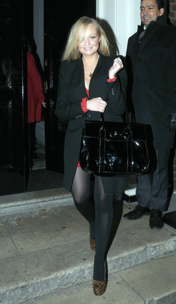 Emma Bunton went to London's The Arts Club.