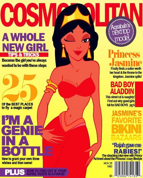 Magazine Cover Jasmine