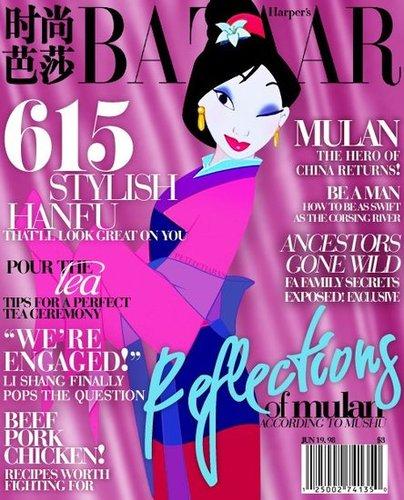 Magazine Cover Mulan