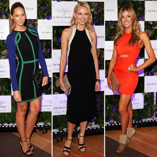 Naomi Watts, Nikki Phillips and Laura Csortan Frock Up for Jacob's Creek Dinnner in Sydney: Who Was Best Dressed?