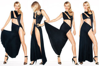 Gwyneth Paltrow Sexes It Up for a New Look US Harper's Bazaar: Look at Those Legs!