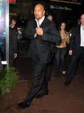 "Dwayne ""The Rock"" Johnson attended the premiere of Journey 2: The Mysterious Island."