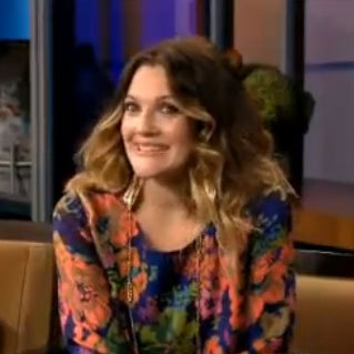 Drew Barrymore Jay Leno Video 2012