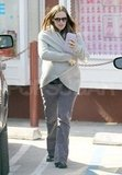 Pregnant Jennifer Garner headed out to her car.