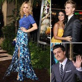 Rachel McAdams Joins Vanessa and Josh For a Journey 2 Premiere