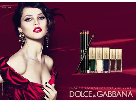 Felicity Jones's Dolce & Gabbana Ads