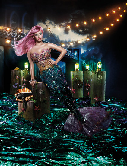 Little Mermaid: See Katy Perry's New Ghd Air Campaign
