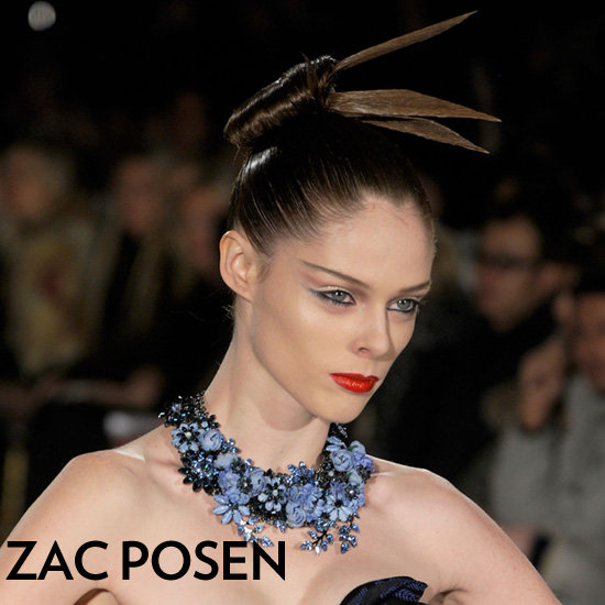 Zac Posen Dazzles With a Geisha-Inspired Style