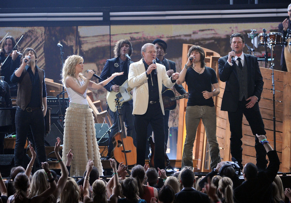 The Band Perry, Blake Shelton, and Glen Campbell
