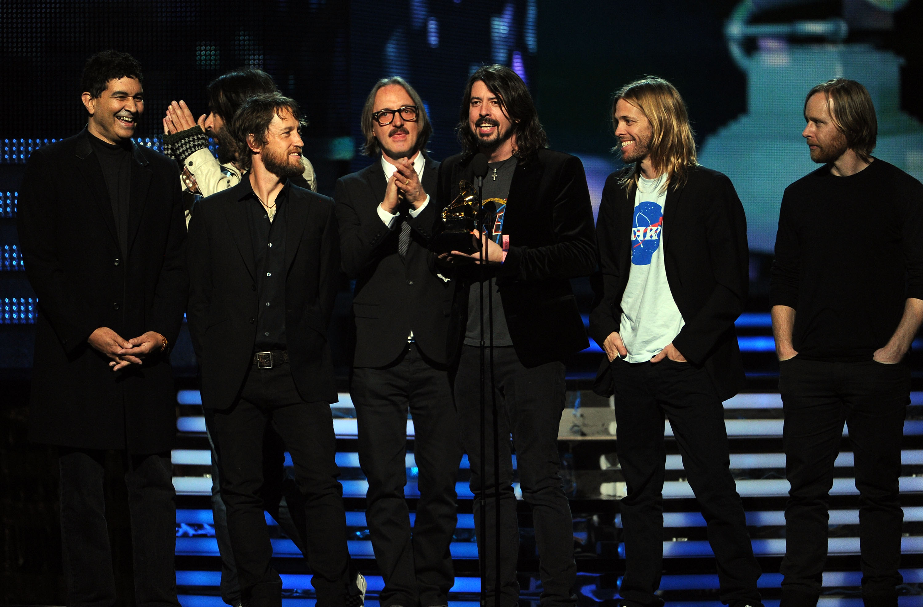 The Foo Fighters happily accepted th