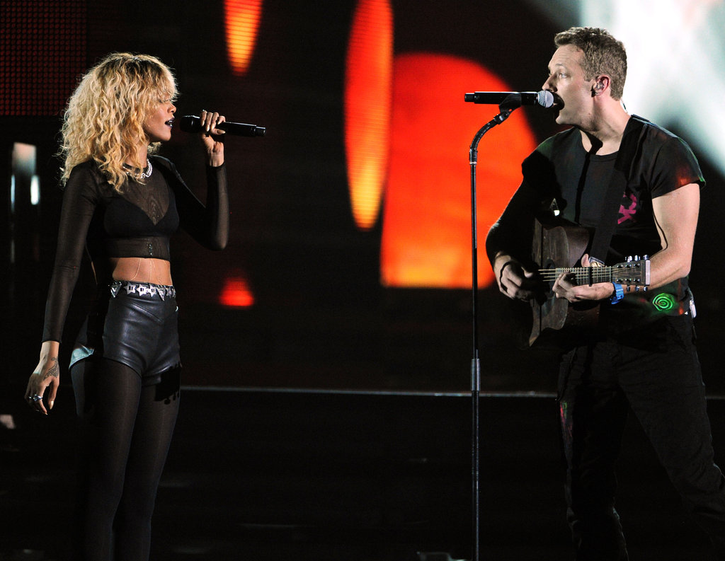 Rihanna and Coldplay Rock Out With an Amazing, Sexy Grammy Performance!