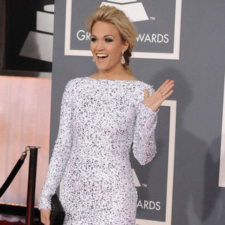 Carrie Underwood Grammy Awards Red Carpet Pictures 2012