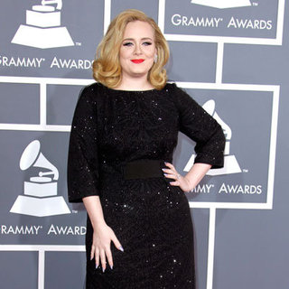 Adele at Grammy Awards 2012
