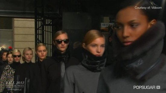 Watch the DKNY Fall 2012 Runway Show