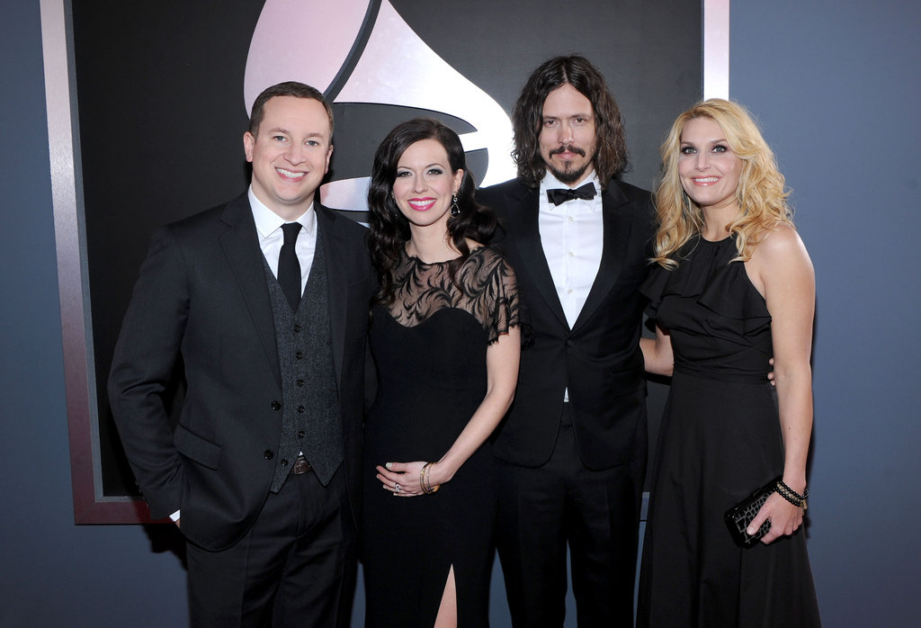 Joy Williams and her husband, Nate Yetton, were joined by John Paul White and his wife at this year's Grammys.