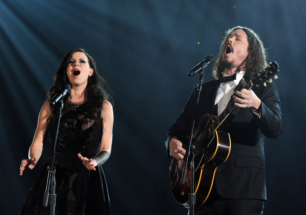 The Civil Wars performed at the 2012 Grammys.