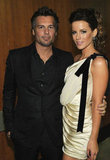 Kate Beckinsale and husband Len Wiseman make one attractive pair at the Grammys.