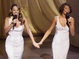 Mariah and Whitney perform in 1999.