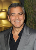 George Clooney at the 2012 Oscar nominees lunch.