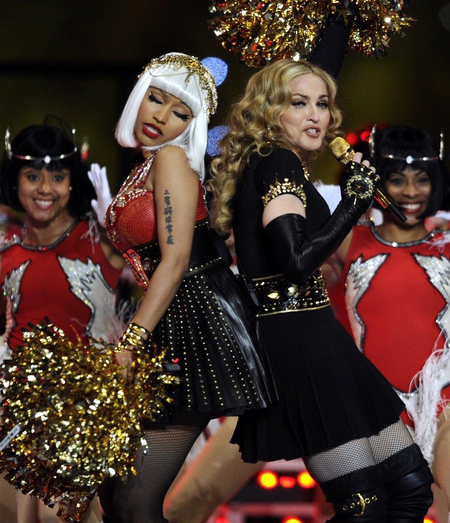 Nicki Minaj and Madonna