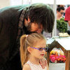 Ben Affleck With Violet &amp; Seraphina Farmers Market Pictures