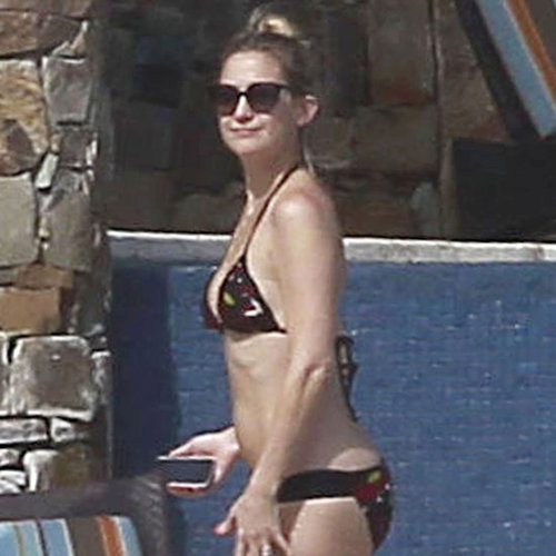 Kate Hudson Bikini Pictures in Mexico With Matthew Bellamy