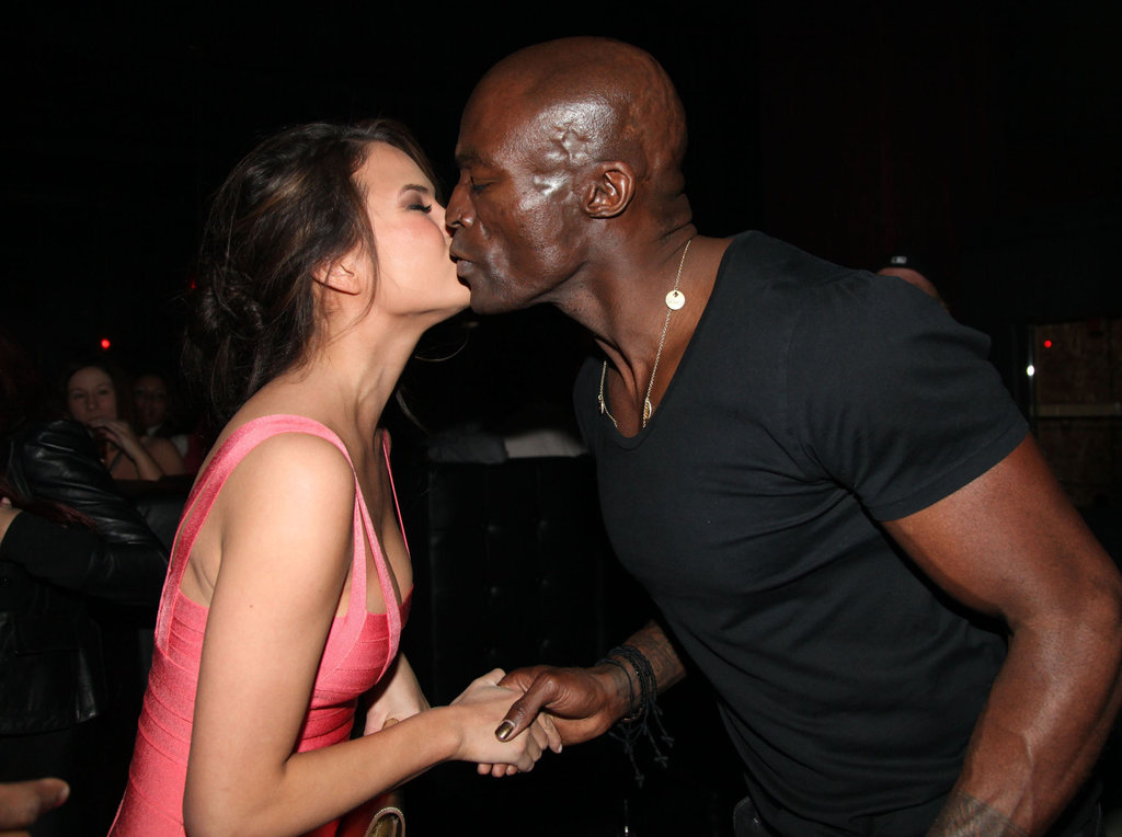 Chrissy Teigen and Seal