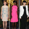 2012 Oscars Nominees Luncheon Celebrity Pictures: Brad Pitt, George Clooney, Michelle Williams, Rooney Mara and More