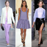 Lilac on the Spring '12 Runways