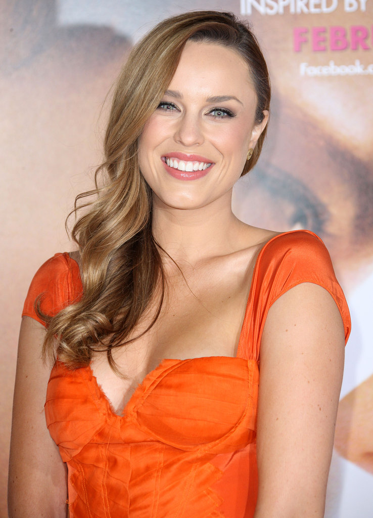 Jessica McNamee at the premiere of The Vow.