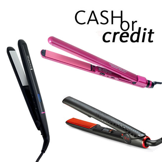 Cash or Credit: Hair Straighteners For Silky-Straight Strands