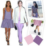 Color Theory: Soften Your Spring Wardrobe With Lilac Hues