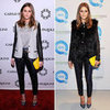 Olivia Palermo Yellow Clutch
