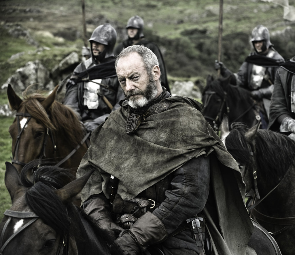 Liam Cunningham as Davos Seaworth on Game of Thrones.  Photo courtesy of HBO