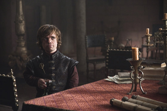Peter Dinklage as Tyrion Lannister on Game of Thrones.  Photo courtesy of HBO