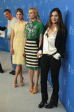 Virginie Ledoyen, Diane Kruger, and Lea Seydoux did press together.