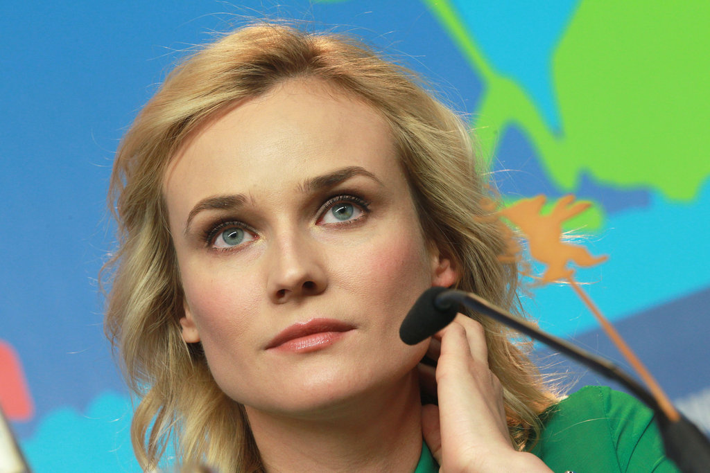 Diane Kruger looked gorgeous in Berlin.