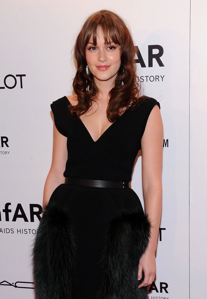 Leighton Meester wore Louis Vuitton.