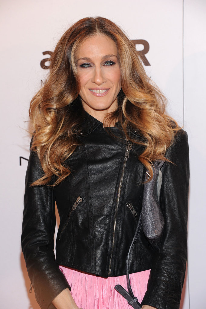 Sarah Jessica Parker attended the 2012 amfAR gala in NYC.