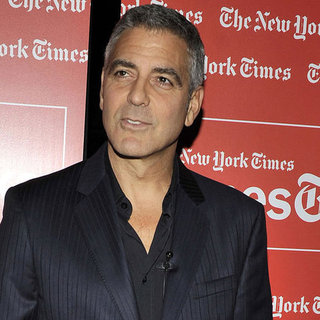 George Clooney Pictures at NYT TimesTalks