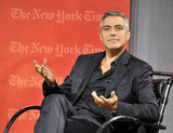 George Clooney chatted about The Descendants.