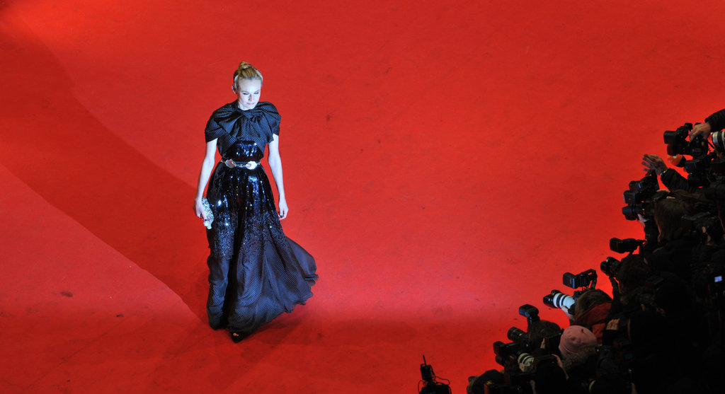 Diane Kruger hit the carpet in a long gown.