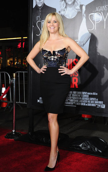 Reese Witherspoon attended the LA premiere of This Means War.