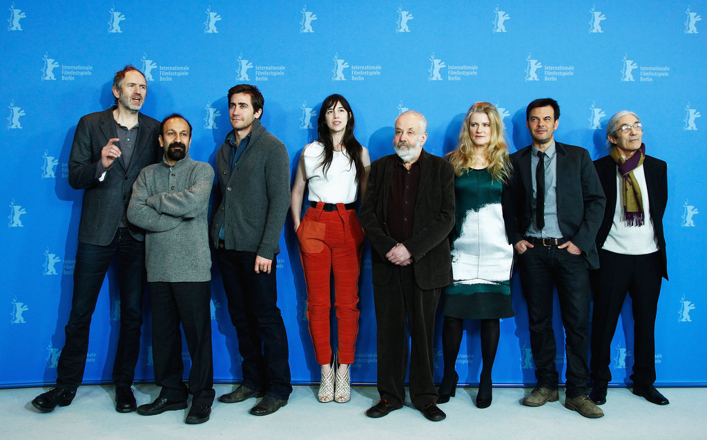 Jake Gyllenhaal posed with the Berlin International Film Festival jurors.