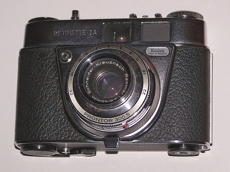 Retinette IA with Prontor 300 S shutter Source: Wikipedia