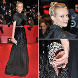 Diane Kruger in Giambattista Valli at Berlin Film Festival