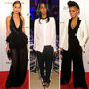 Celebrities Wearing Tuxedo-Inspired Looks 2012